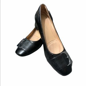 Naturalizer Leather Heeled Loafers